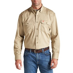 Ariat FR 6.5 oz. Button-Front Work Shirt