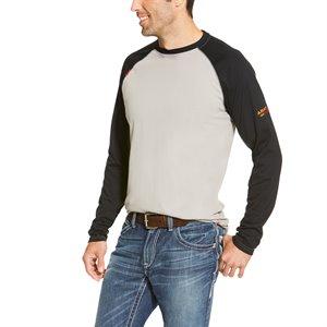 Ariat FR 100% Cotton Baseball T-Shirt