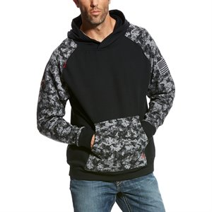 Ariat FR 11 oz Hooded Digital Camo Sweatshirt