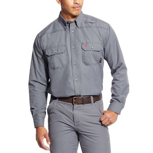 ARIAT FR GRAY WORK SHIRT