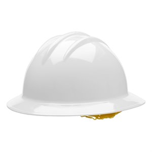 Bullard XL Full Brim Extra Large Hard Hat w / Staz On
