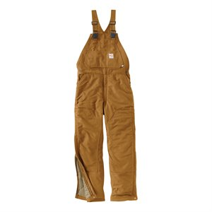 Carhartt Flame-Resistant Duck Bib Overall - Quilt-Lined