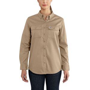 Carhartt FR Ladies 7 oz. Rugged Flex Twill Shirt