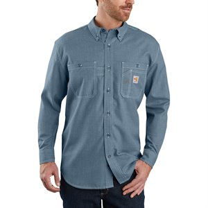 Carhartt FR Original Fit Lightweight Long-Sleeve Button Front Shirt