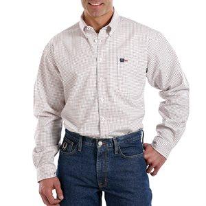 Cinch FR 7.5 oz Cotton L / S Plaid Shirt
