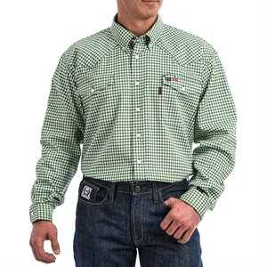 Cinch 6.5 oz FR Western Snap Shirt