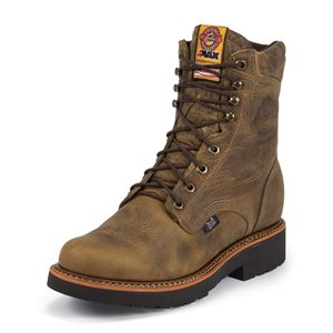 Justin Steel Toe Lace Up Work Boot