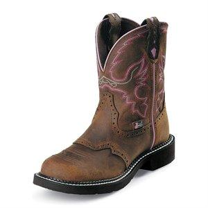 Justin Ladies Steel-Toe Boot