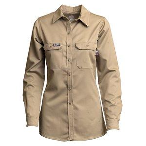 Lapco FR Ladies 7oz UltraSoft AC L / S Uniform Shirt