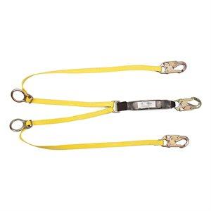 MSA Double-Leg Pelican Hook Lanyard