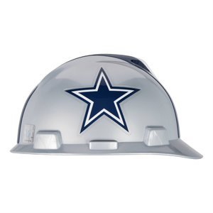 MSA NFL V-Gard Cap Style Hard Hat - Dallas Cowboys
