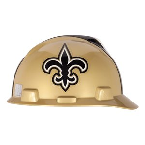 MSA NFL V-Gard Cap Style Hard Hat - New Orleans Saints