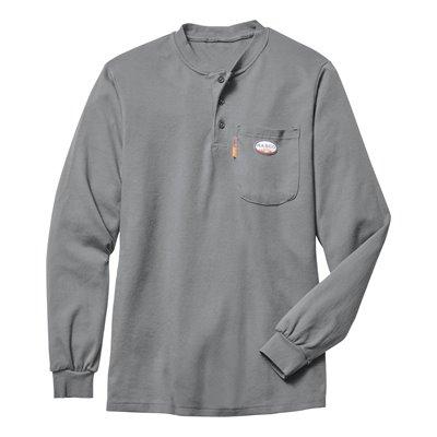Rasco FR 7.1 oz. L / S Henley Shirt