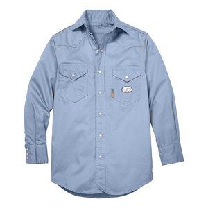 Rasco FR 7.5 oz. Snap-Front Twill Ladies Work Shirt