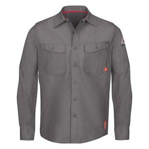 Bulwark FR iQ Series Endurance L / S Ripstop Work Shirt