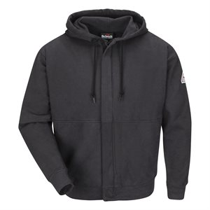 Bulwark FR 12.5 oz Zip-Front Hooded Sweatshirt