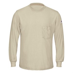 Bulwark FR 5 oz. L / S T-Shirt w / Pocket