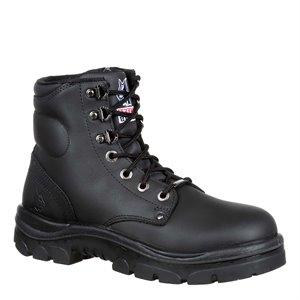 Steel Blue Argyle Zip Boot