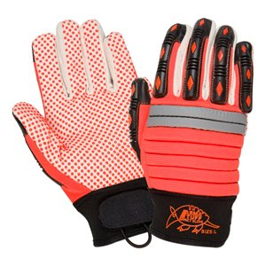 Impact Hybrid Silicone Dotted Gloves (Pair)