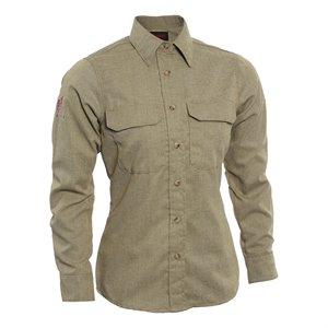 Tecgen FR Ladies L / S Work Shirt