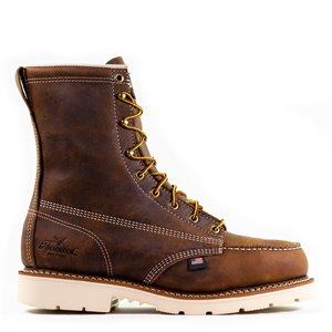 "Thorogood 8"" American Heritage Trail Crazyhorse Moc Toe MaxWear 90 Boot"