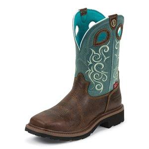 Tony Lama Ladies Saddleback Pull On Boot